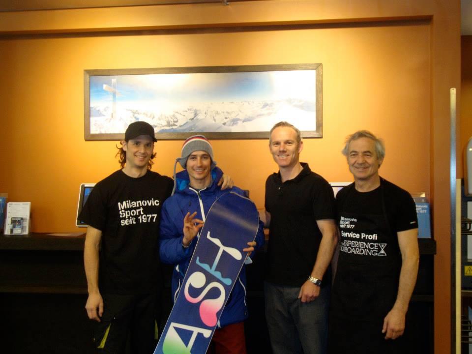 Sport Milanovic - Snowboardservice mit Qualität