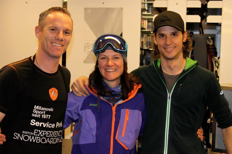 Sport Milanovic - Freeriden am Arlberg