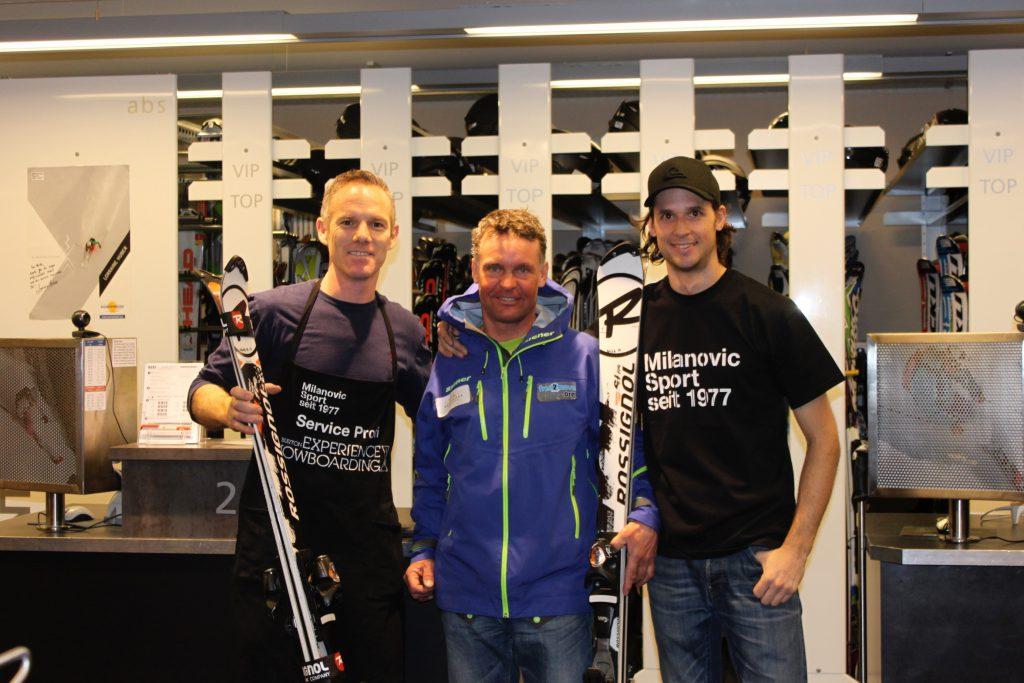 skiservice für rennläufer