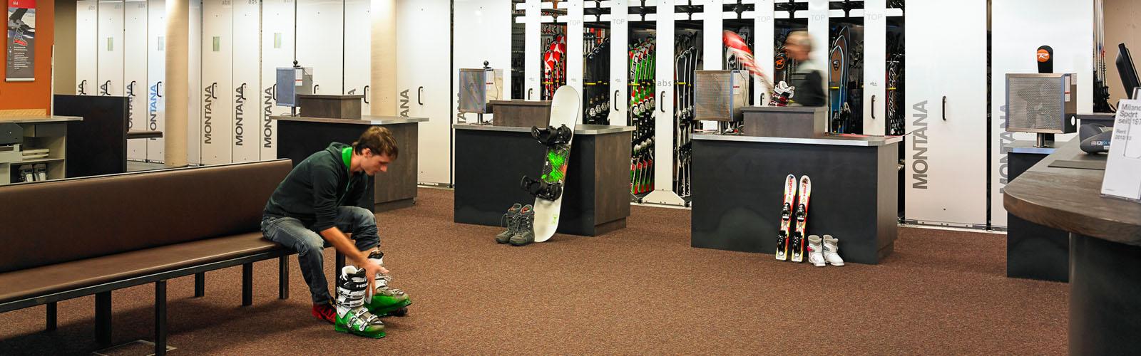 Sport Milanovic - Skischuhe kaufen mit guter Beratung