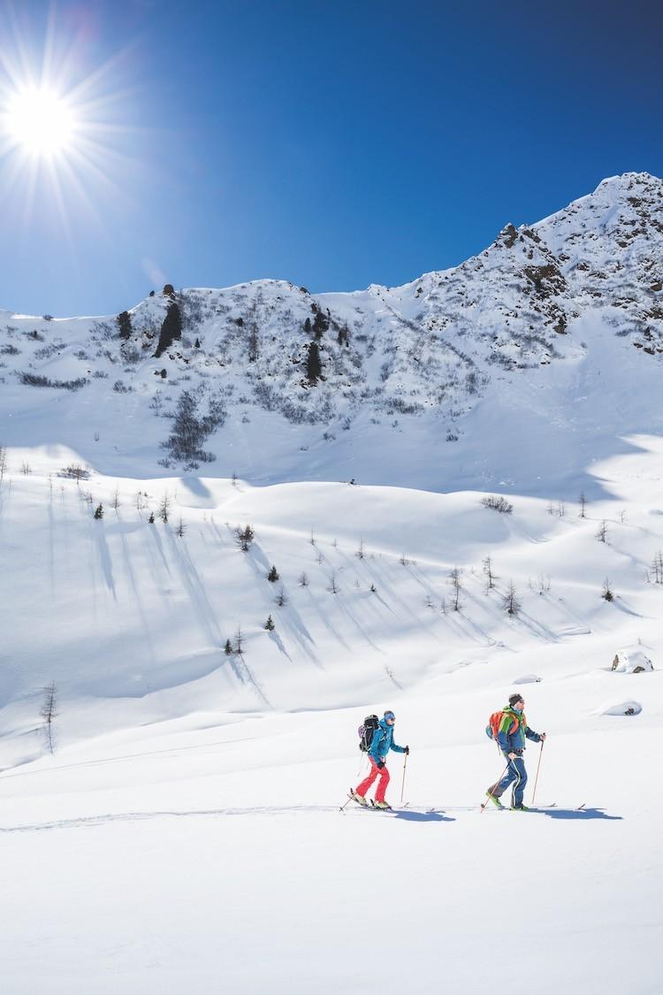 Ausrüstung für skitour